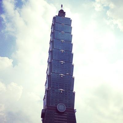 台湾を象徴するビル「台北101」