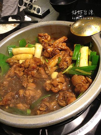 「一品花雕鶏」の巨大なシジミ鍋にビックリ!