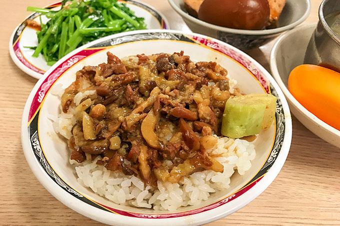 台湾旅行中に一度は食べておきたい金峰魯肉飯