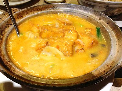 蟹黃豆腐煲