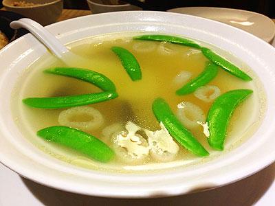 あわびのスープ