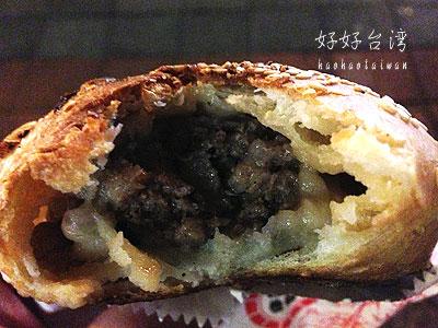 饒河街観光夜市の名物、福州世祖胡椒餅
