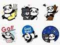 パンダの赤ちゃん圓仔(ユエンツァイ)のLINEスタンプ