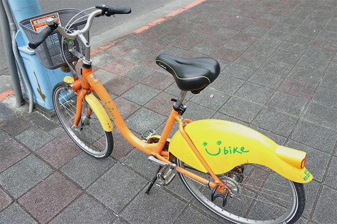 自転車はGIANT製