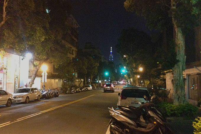 台北のあちこちから見える101の風景が好き