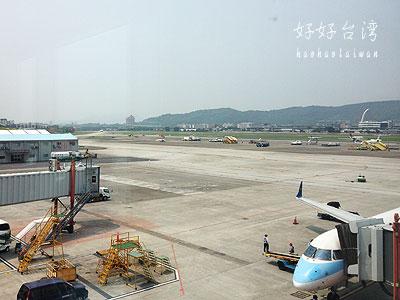 台湾・台北松山空港の展望台へ行ってみた!