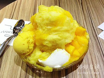 アイスモンスターのマンゴーかき氷が食べたい!