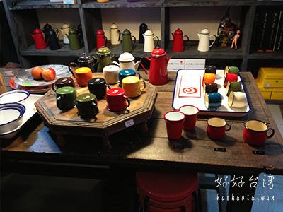富錦街の放放堂 funfuntownでホーローマグカップ!