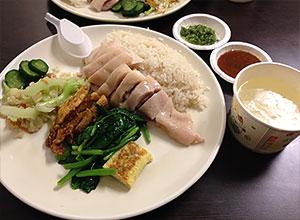 慶城海南鶏飯で絶品チキンライス