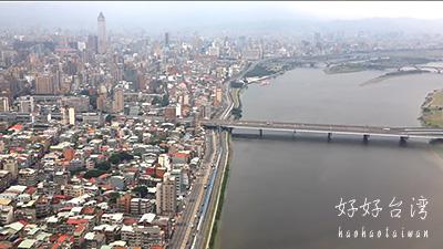 台北は曇り時々あめ。