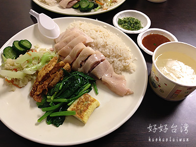 慶城海南雞飯で絶品シンガポールチキンライス
