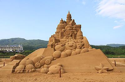 福隆砂彫刻フェスティバル2015