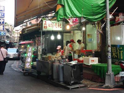 通化夜市近くにある正好鮮肉小籠湯包