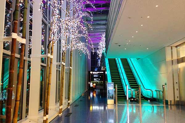 羽田空港国際線ターミナル直結のロイヤルパークホテル ザ羽田