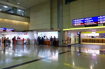 桃園国際空港第2ターミナルのSIMカード売り場