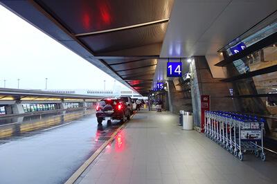 桃園国際空港の第一ターミナル