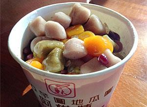台湾で人気の町・九份の阿柑姨芋圓でもちもちスイーツ