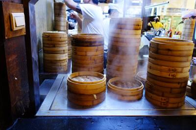 中正記念堂近くの台湾人にも人気の有名な杭州小籠湯包