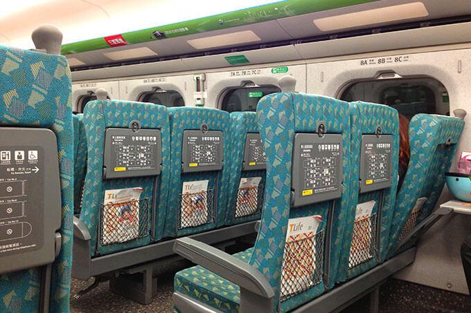 台湾新幹線の普通車両