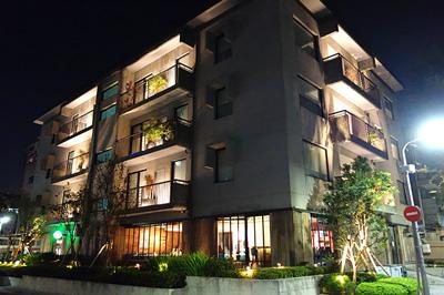 フォリオ台北大安ホテルの外観