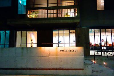ホテル1Fにあるギャラリー&ショップ「FOLIO SELECT」