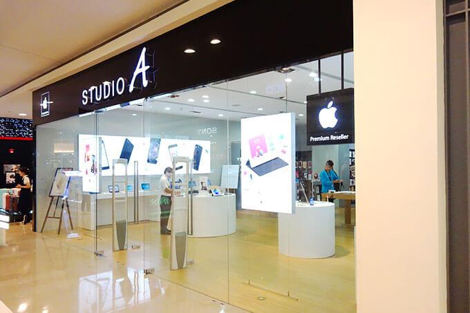 免税対応も可能なSTUDIO Aの台北101店