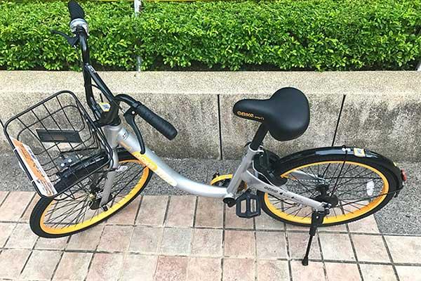 台湾で始まった自転車シェアリングObike(オーバイク)はユーバイクとは異なるレンタサイクル