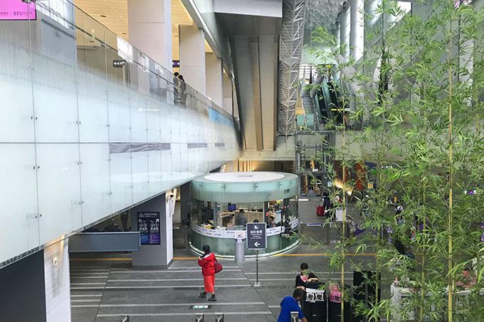 桃園MRT台北駅の窓口