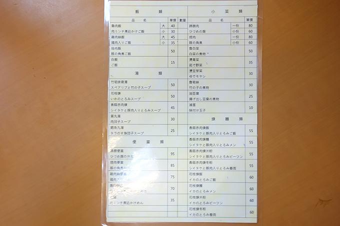 さすが人気店、日本語メニューも完備されてます