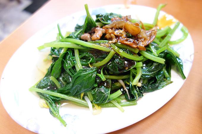 燙青菜(ゆで野菜)35元