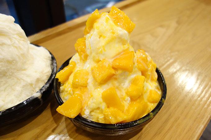 芒果牛奶雪花(180元)