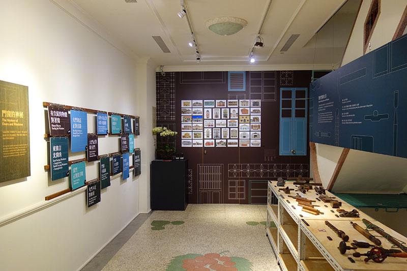 迪化207博物館内の様子