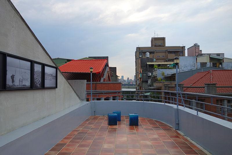 迪化207博物館の屋上